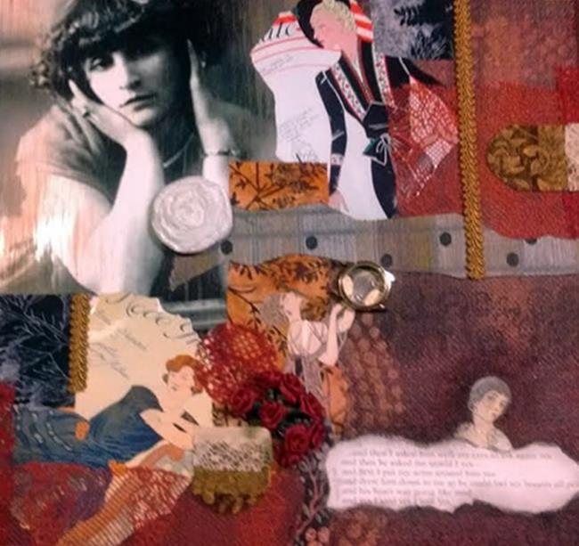 Art: Colette Inspired (GIFTED) by Artist Vicky Helms