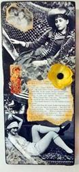 Art: Colette Collage 3 (SOLD) by Artist Vicky Helms