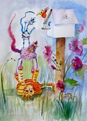 Art: Group Effort by Artist Delilah Smith