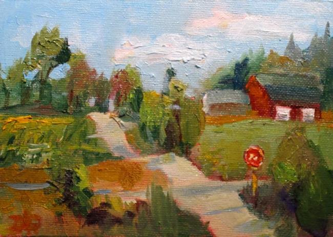 Art: Cross Roads-sold by Artist Delilah Smith