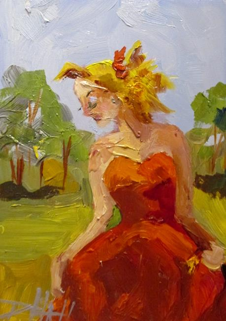 Art: Garden Party-sold by Artist Delilah Smith