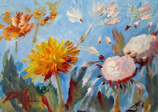 Art: Dandelion Summer-sold by Artist Delilah Smith