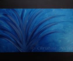 Art: Effloresence in the Depth by Artist Christine Nicole