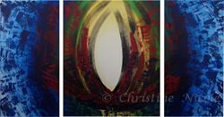 Art: Phoenix Eye by Artist Christine Nicole