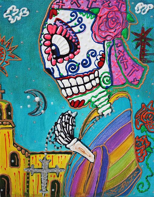 Art: Holy Rosie by Artist Laura Barbosa
