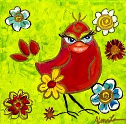 Art: Miss Scarlett by Artist Alma Lee