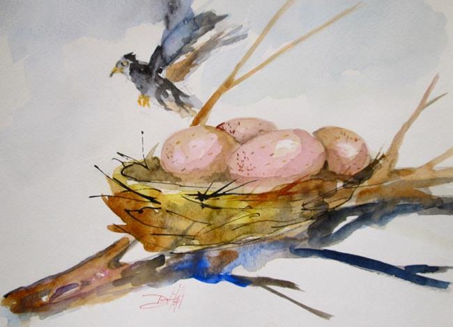 Art: Spring Nest by Artist Delilah Smith
