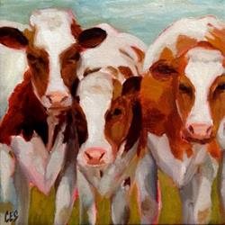 Art: Three's a Crowd by Artist Christine E. S. Code ~CES~