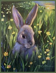 Art: Mum Says Don't Eat Buttercups by Artist Patricia  Lee Christensen