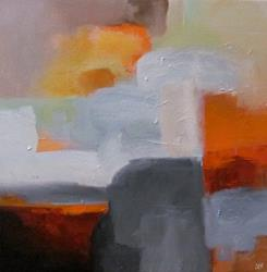 Art: Sunrise Over the City by Artist Christine E. S. Code ~CES~
