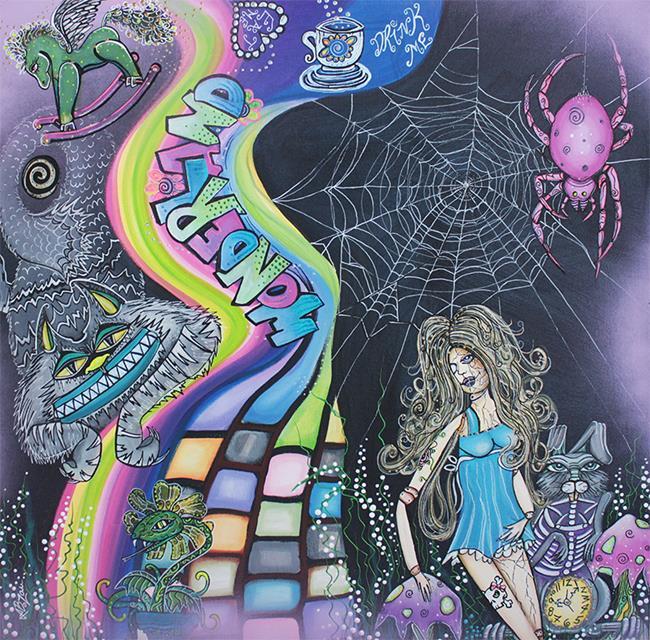 Art: Wonderland Dreams by Artist Laura Barbosa