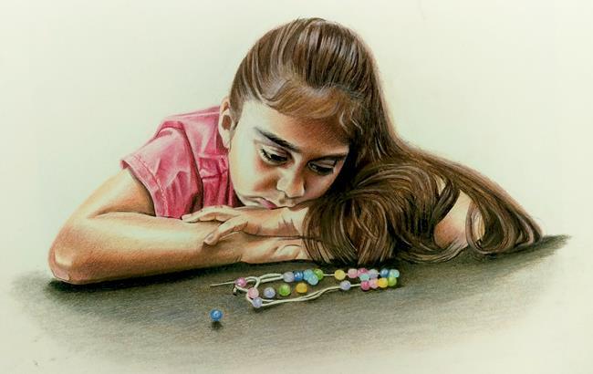 Art: BROKEN by Artist Kate Challinor