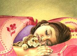 Art: SLEEP by Artist Kate Challinor