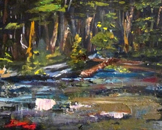 Art: Reflections by Artist Delilah Smith