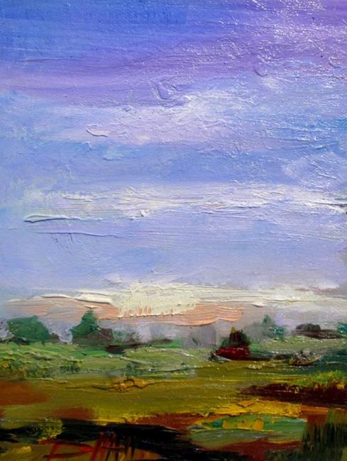 Art: Landscape No. 2 by Artist Delilah Smith