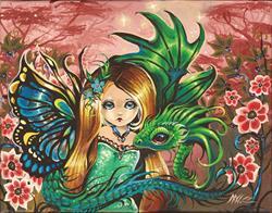 Art: Dragons Garden by Artist Nico Niemi