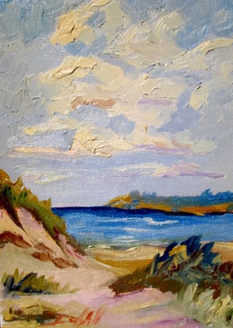 Art: Sand Dunes by Artist Delilah Smith