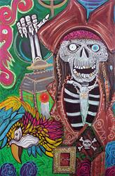Art: Pirate Nights by Artist Laura Barbosa