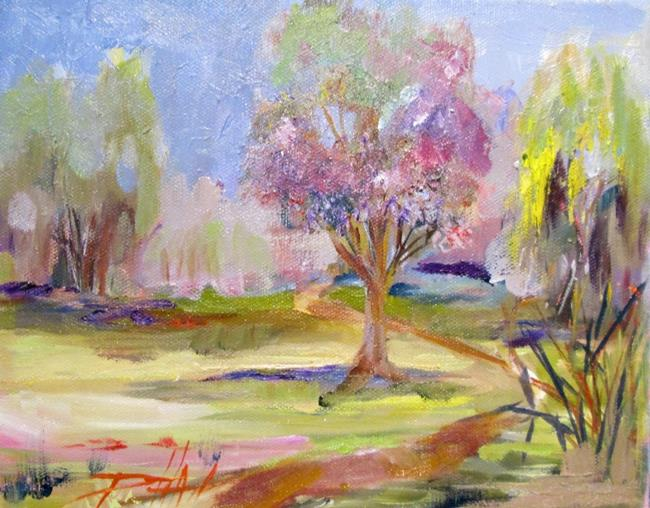 Art: Spring in the Park by Artist Delilah Smith