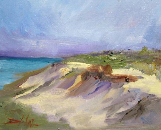 Art: Wind Swept-SOLD by Artist Delilah Smith