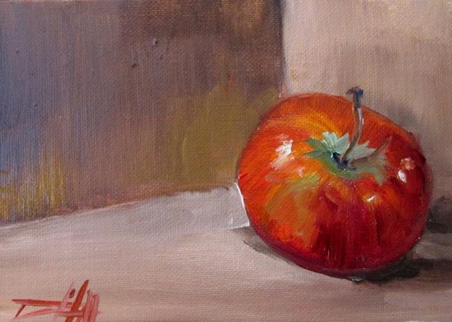 Art: Apple Still Life by Artist Delilah Smith