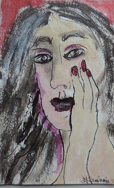 Art: as I wonder by Artist Nancy Denommee