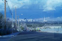 Art: BLUE VEGAS by Artist SINdustry CITY Productions LLC
