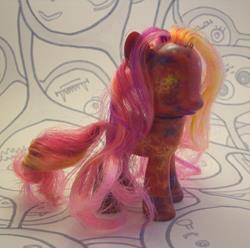 Art: Venus Pony MLP Repaint by Artist Emily J White