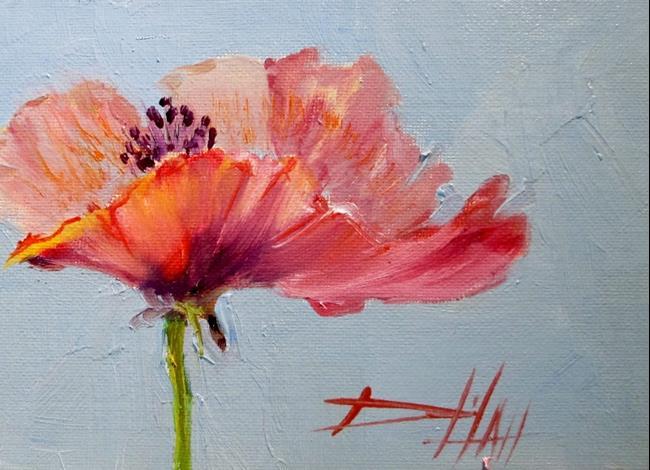 Art: Poppy by Artist Delilah Smith