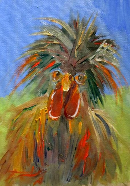 Art: Polish Chicken by Artist Delilah Smith