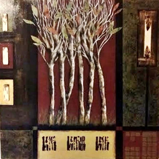 Art: Birch (SOLD) by Artist Vicky Helms