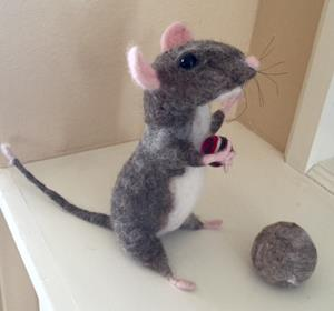 Detail Image for art Needle Felted Mouse
