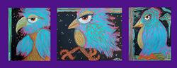 Art: Birdies by Artist Laura Barbosa