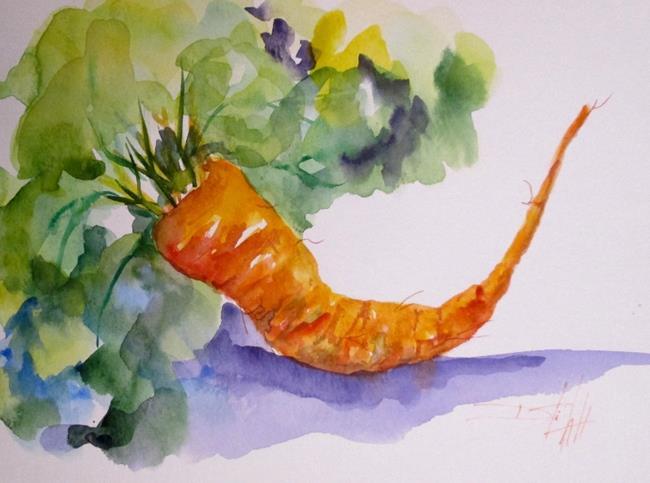 Art: One Carrot by Artist Delilah Smith