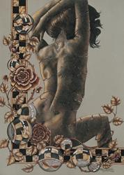 Art: Tracks of Impermanence by Artist Shelly Bedsaul