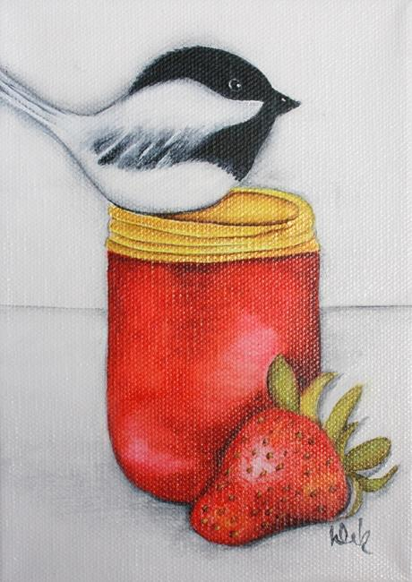 Art: Strawberry Jam by Artist Deb Harvey