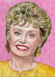 Art: Blanche Devereaux by Artist Mark Satchwill