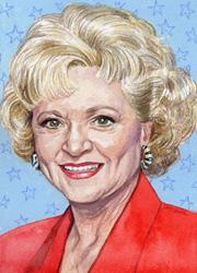 Art: Rose Nylund by Artist Mark Satchwill