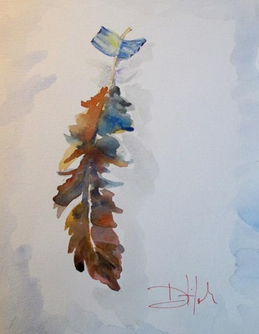 Art: Feather by Artist Delilah Smith