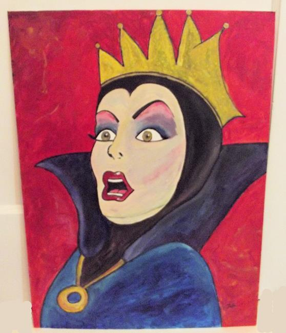 Art: Evil Queen Surprise by Artist Paul Lake, Lucky Studios