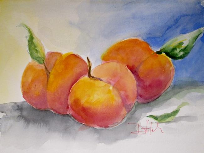 Art: Peaches by Artist Delilah Smith