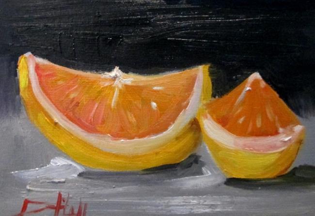 Art: Grapefruit by Artist Delilah Smith