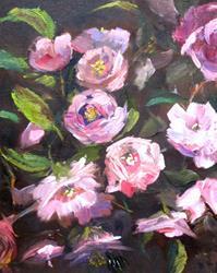 Art: Brandywine Roses by Artist Delilah Smith