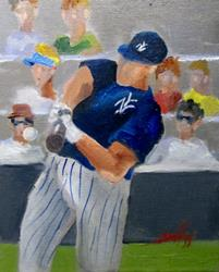 Art: Spring Training-sold by Artist Delilah Smith