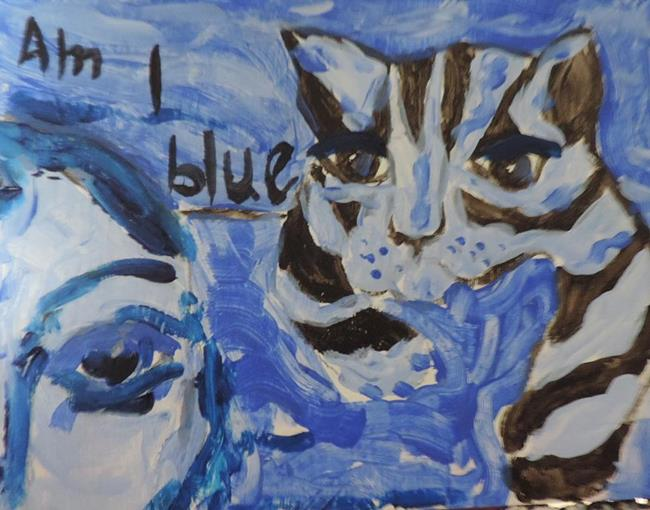 am i blue essay In the essay ''am i blue'' her attention is devoted mainly to a white horse named  blue who lives alone - much against his will - in a pasture.