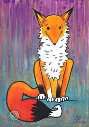 Art: Fox 3 by Artist Emily J White