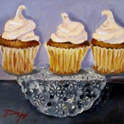 Art: Sweet Cupcakes by Artist Delilah Smith