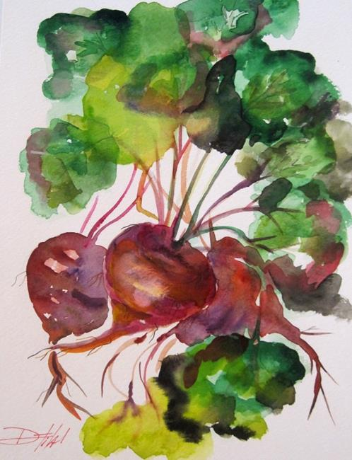 Art: Beets by Artist Delilah Smith