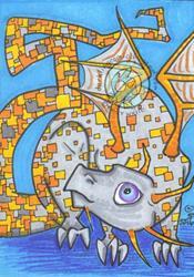 Art: Tetra by Artist Emily J White