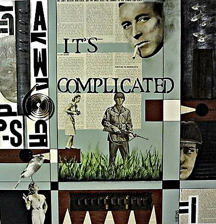 Art: Complicated by Artist Vicky Helms